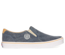 Slipper, blau, Damen