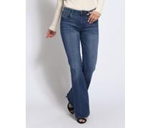 Jeans Jambes blau
