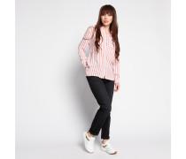 Bluse weiß/rot