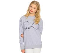 Sweatshirt, Grau, Damen