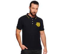 Poloshirt, navy, Herren