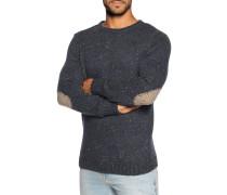 Pullover navy meliert