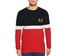 Pullover navy/rot/weiß