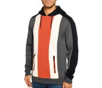 Kapuzensweatshirt grau/offwhite/navy