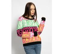 Pullover weiß/pink/multi