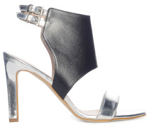 Sandaletten, Silber, Damen