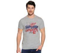 T-Shirt, Grau, Herren