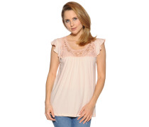 T-Shirt, nude, Damen