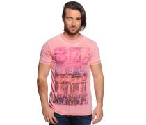 T-Shirt, koralle, Herren