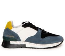 Sneaker blau/weiß/gelb