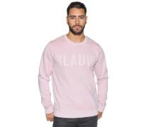 Sweatshirt, Rosa, Herren