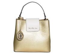 Tasche, gold, Damen