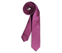 Krawatte, fuchsia, Herren