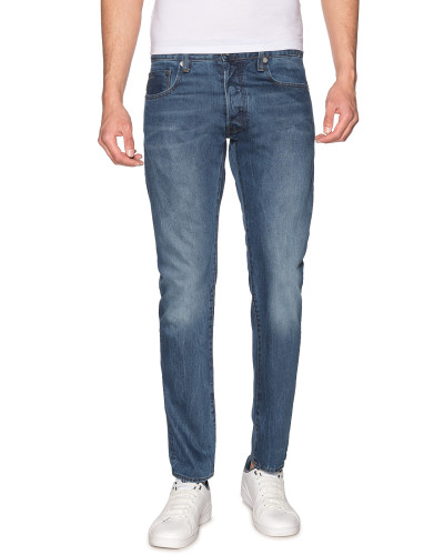 Jeans 3301 Slim blau