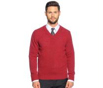 Pullover, orangerot, Herren