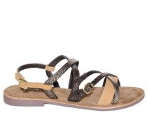 Sandalen, Braun, Damen