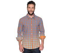Hemd Custom Fit, Orange, Herren
