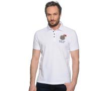 Poloshirt, weiß, Herren