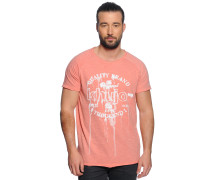 T-Shirt, Rosa, Herren