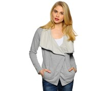 Hidden Ice Sweatjacke, grey melange, Damen