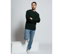 Pullover flaschengrün