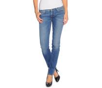 Gina Skinny Jeans, Blau, Damen