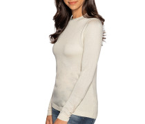 Pullover mit Kaschmiranteil beige