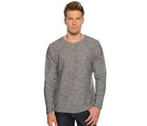 Pullover, grau/off white, Herren