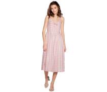 Kleid creme/rosa
