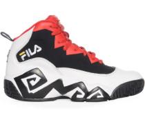 Sneaker, weiss/rot/schwarz, Herren