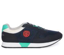 Sneaker, navy/grün, Herren