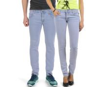 Zip Low, blau/rosa, Unisex