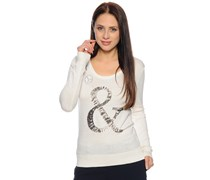 Pullover, weiß, Damen