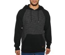 Kapuzensweatshirt schwarz/anthrazit
