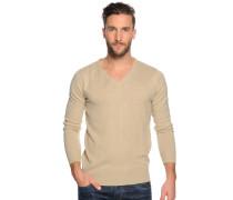 Pullover, beige, Herren