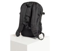 Rucksack schwarz/lila