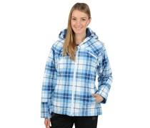 Ski-/Snowboardjacke, weiß/blau, Damen