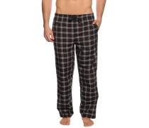 Pyjamahose, Schwarz, Herren