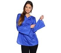 Blusenshirt, royalblau, Damen