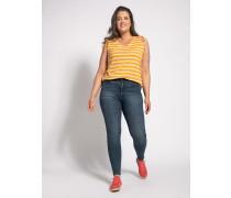 Jeans Skinny (große Größe) blau