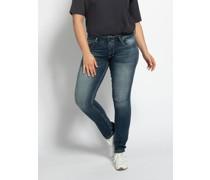 Jeans Zena (große Größen) blau