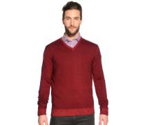Pullover, Rot, Herren