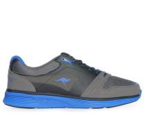 Sneaker, grau/schwarz, Herren