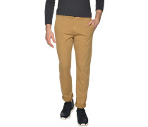 Chino Straight Fit, Beige, Herren