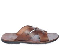 Sandalen, braun, Herren