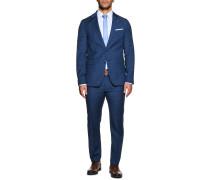 Anzug Slim Fit blau/schwarz