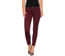 Jeggings, aubergine, Damen