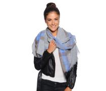 XXL Schal, grau/blau, Damen
