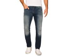 Jeans Slim Straight blau