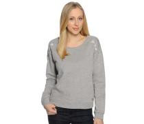 Sweatshirt, grau meliert, Damen